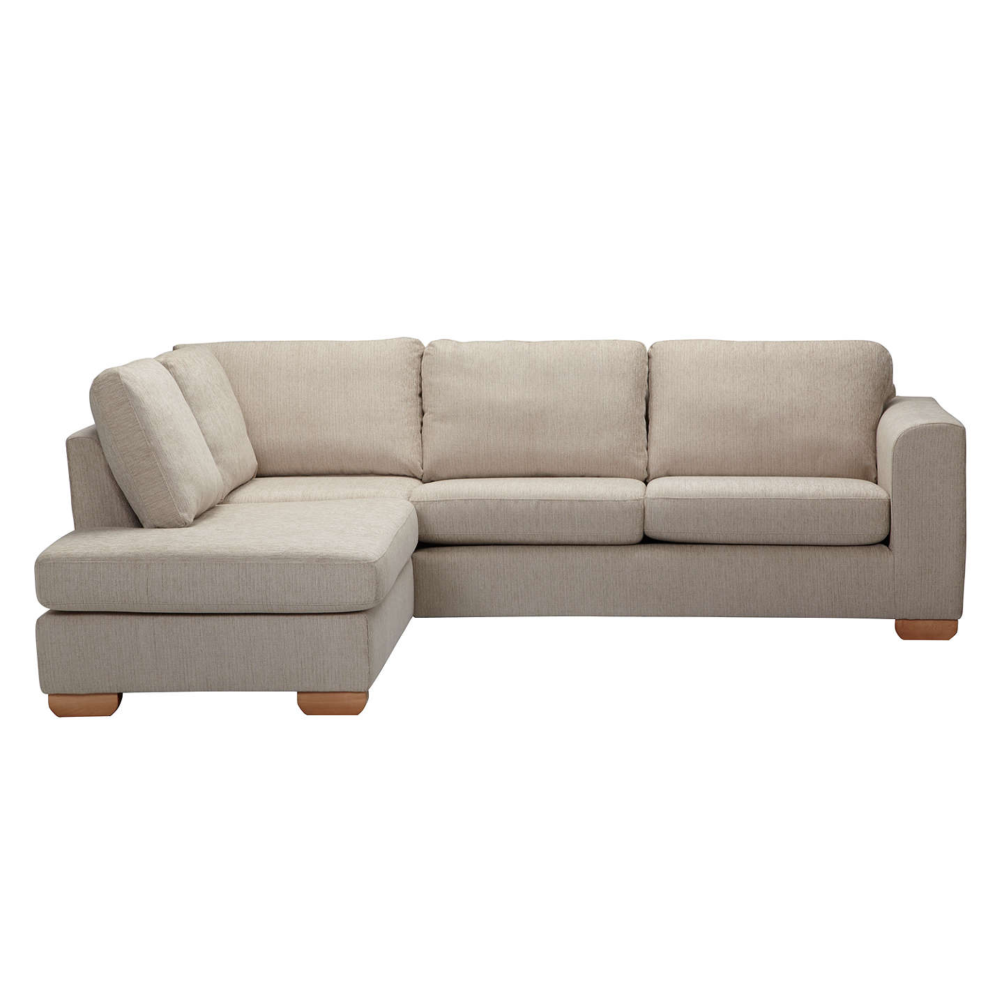 John Lewis Cooper Corner Sofa: John Lewis Felix LHF Corner Chaise End Sofa With Light