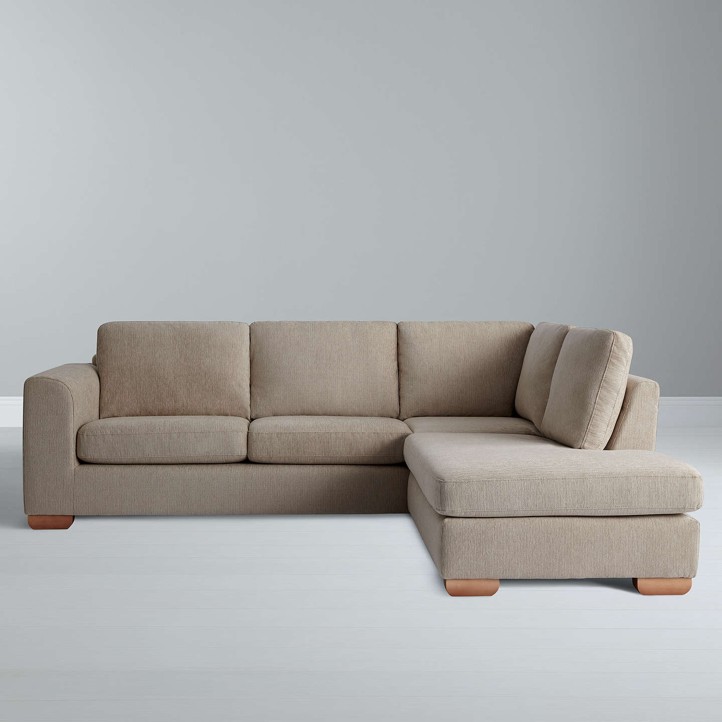 John Lewis Cooper Corner Sofa: John Lewis Felix RHF Corner Chaise End Sofa With Light