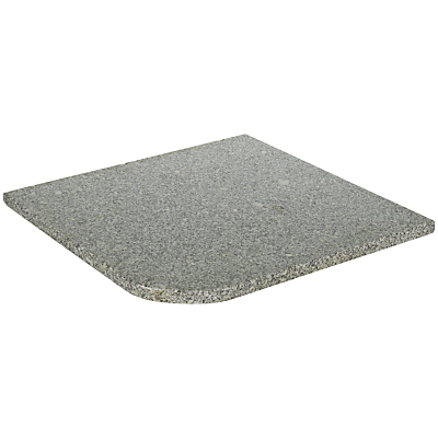John Lewis Freestanding Granite Base Slabs, Pack of 4