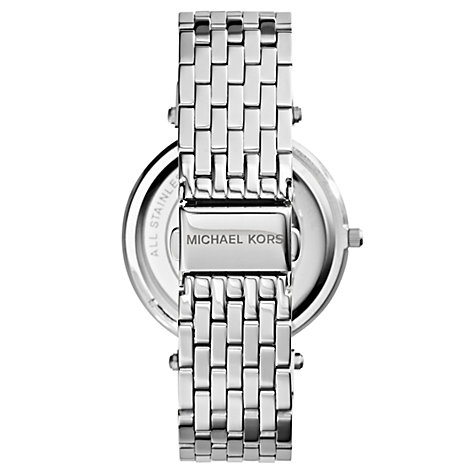 Buy Michael Kors MK3190 Women's Darci Bracelet Strap Watch, Silver Online at johnlewis.com