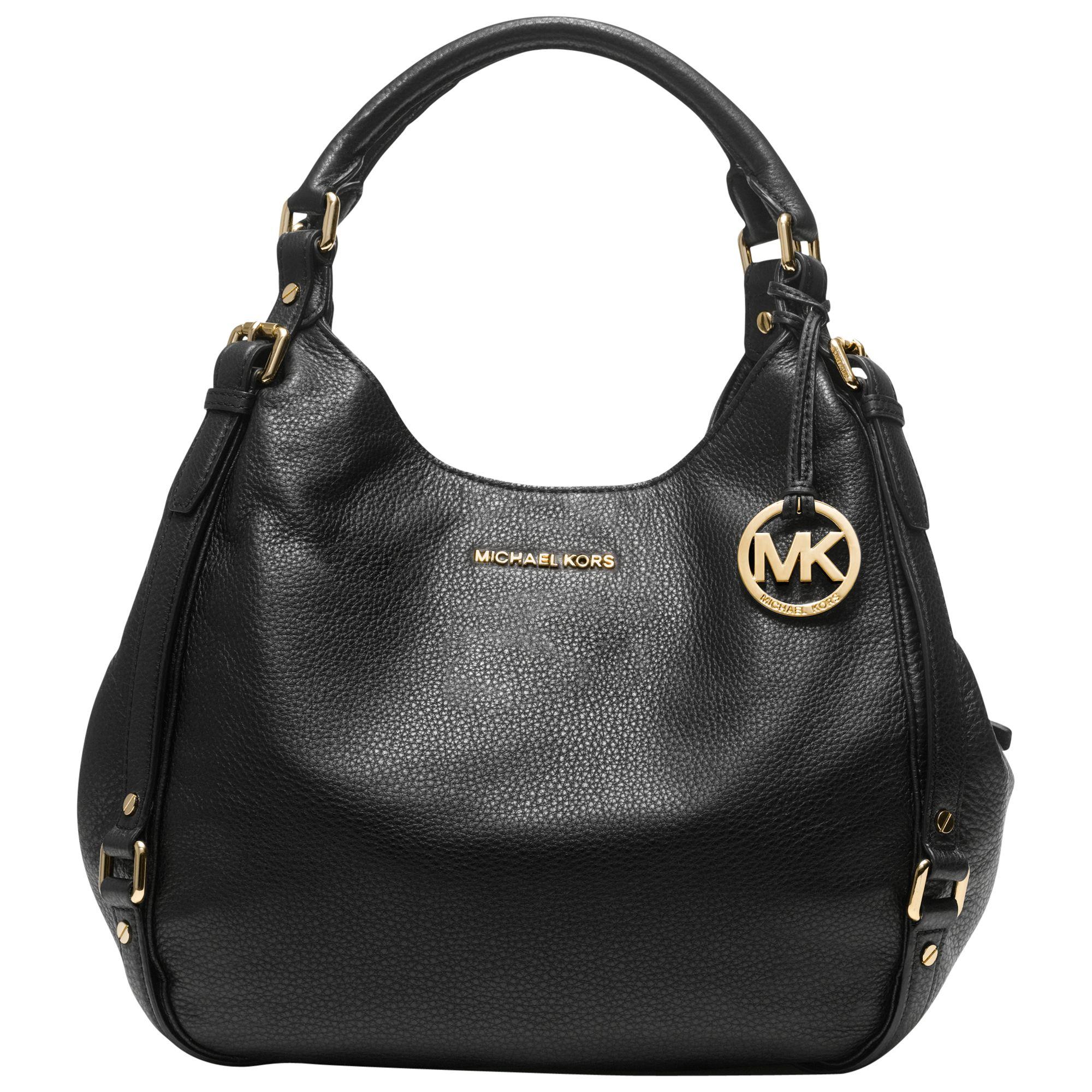 MICHAEL Michael Kors Bedford Leather Large Shoulder Tote Bag at John Lewis    Partners 545b593f5c72e