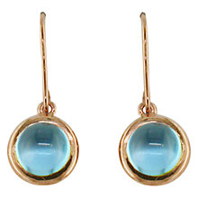 Buy London Road 9ct Rose Gold Pimlico Bubble Drop Earrings Online at johnlewis.com