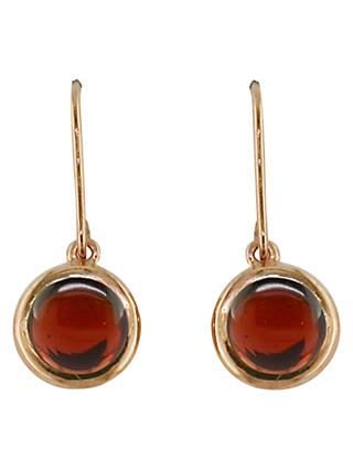 London Road 9ct Rose Gold Pimlico Bubble Drop Earrings
