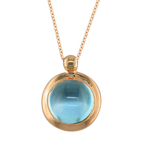 Buy London Road 9ct Rose Gold Pimlico Bubble Pendant Necklace Online at johnlewis.com