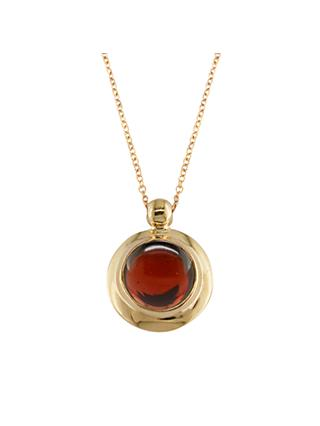 London Road 9ct Rose Gold Pimlico Bubble Pendant Necklace