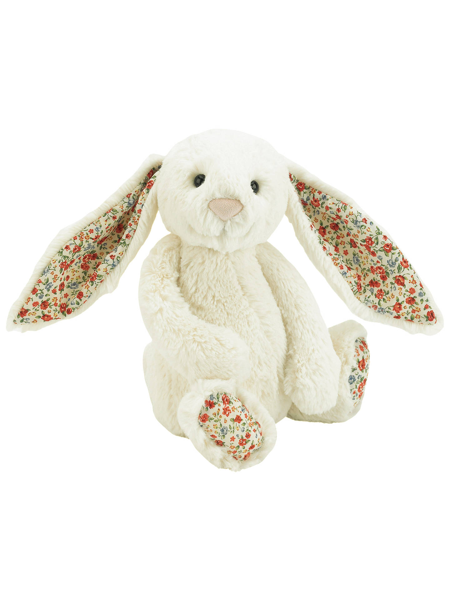 Jellycat Blossom Bunny Soft Toy, Medium, Cream