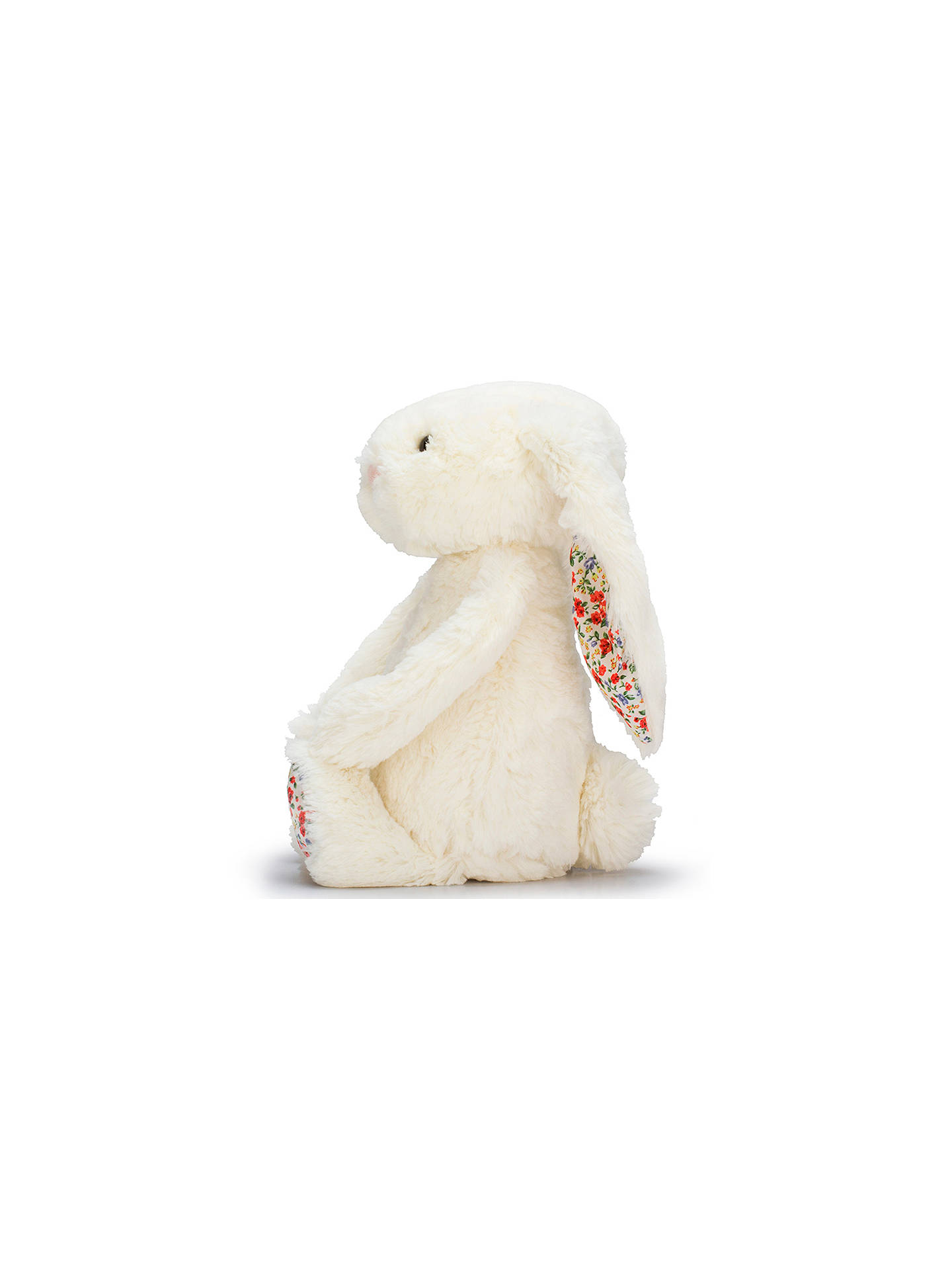 BuyJellycat Blossom Bunny Soft Toy, Medium, Cream Online at johnlewis.com