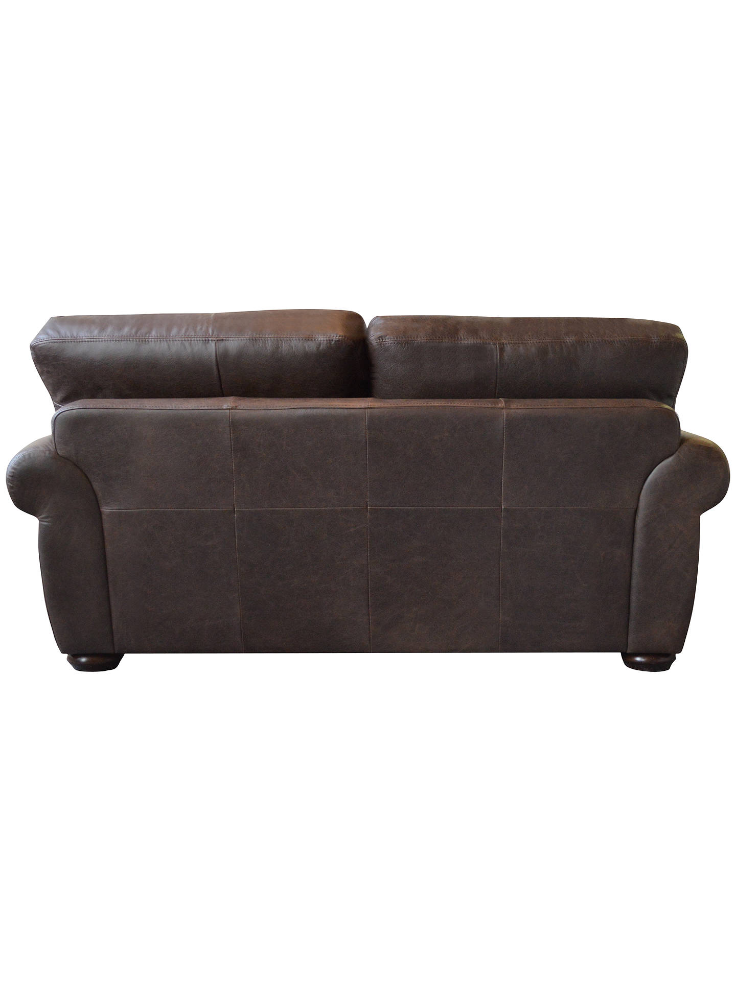 ... BuyJohn Lewis Madison Semi Aniline Small Leather Sofa, Colorado Online  At Johnlewis.com ...
