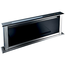 Buy best Lift Downdraft Cooker Hood, Black Online at johnlewis.com