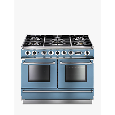 Image of Falcon 1092 Continental Dual Fuel Range Cooker, China Blue