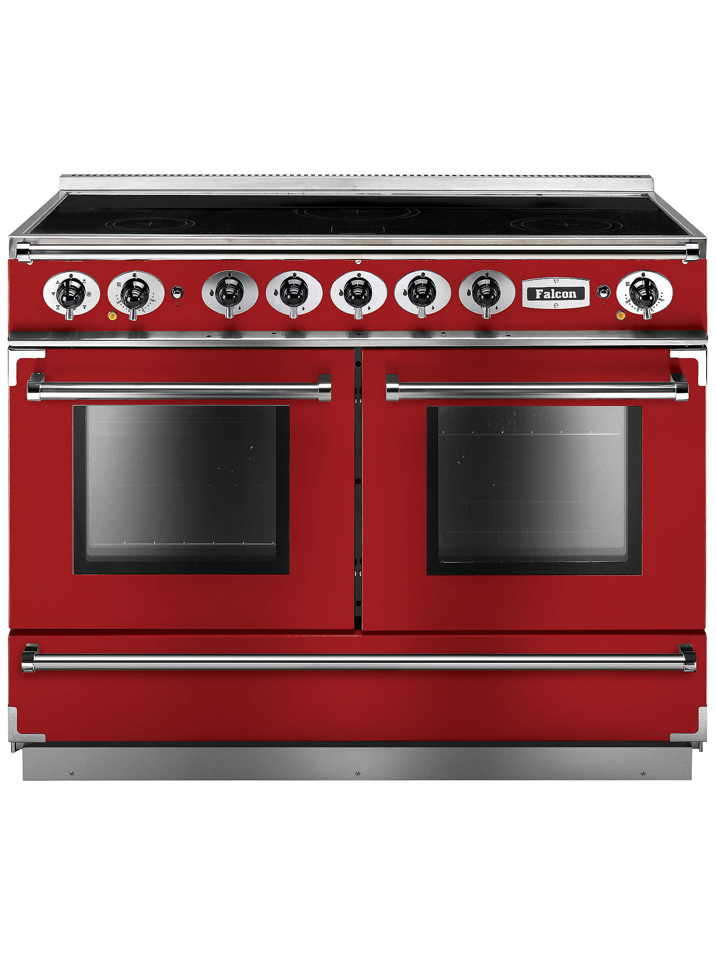 falcon 1092 continental induction hob range cooker cherry. Black Bedroom Furniture Sets. Home Design Ideas