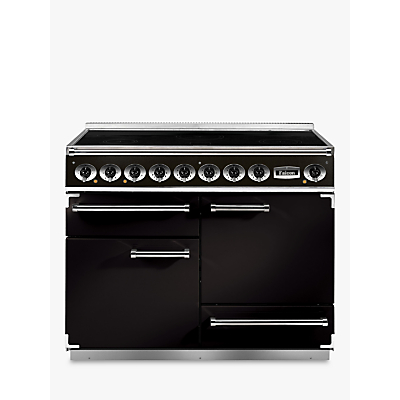 Falcon 1092 Deluxe Induction Hob Range Cooker, Black