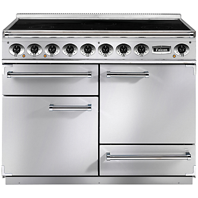 Falcon 1092 Deluxe Induction Hob Range Cooker, Stainless Steel