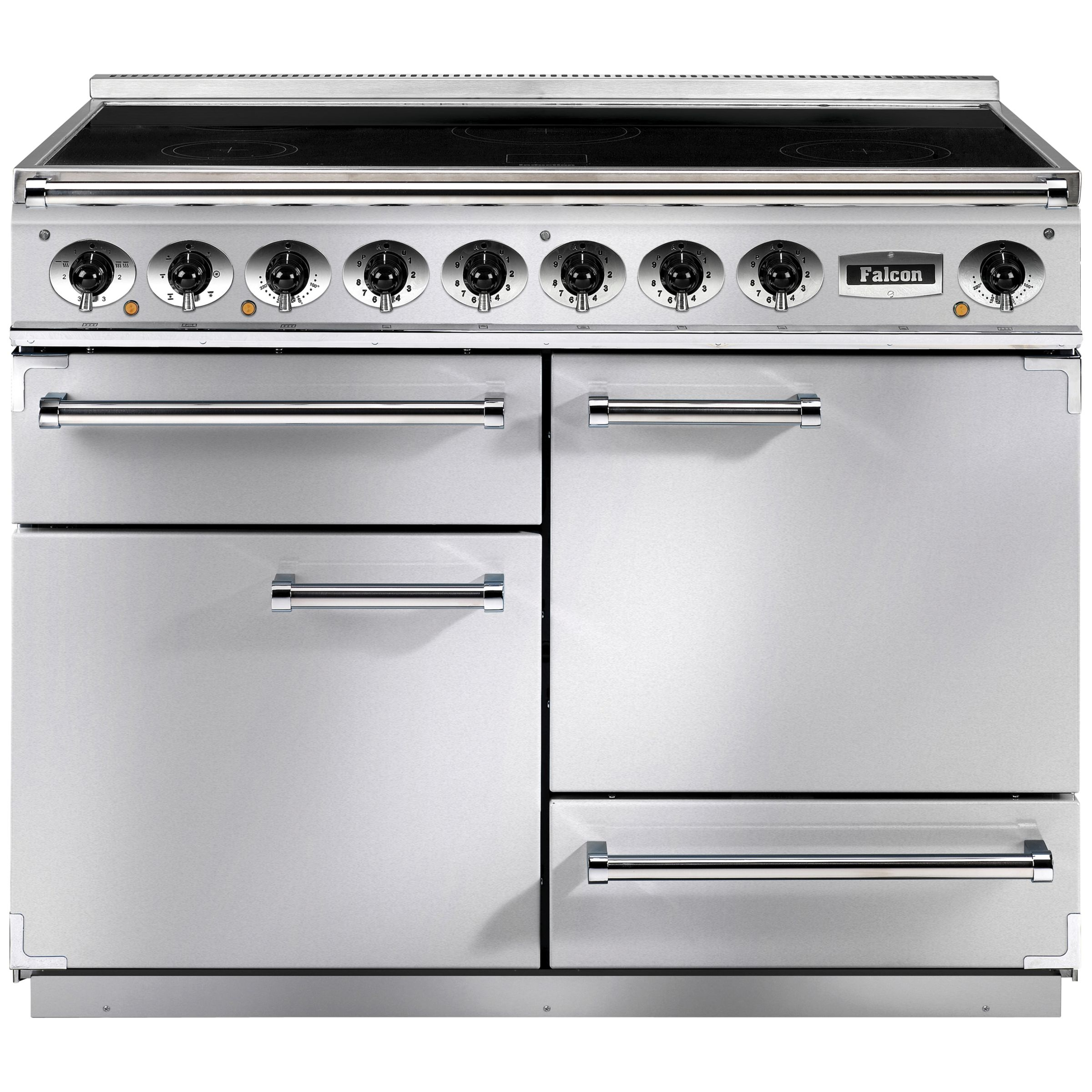 Falcon Falcon 1092 Deluxe Induction Hob Range Cooker, Stainless Steel