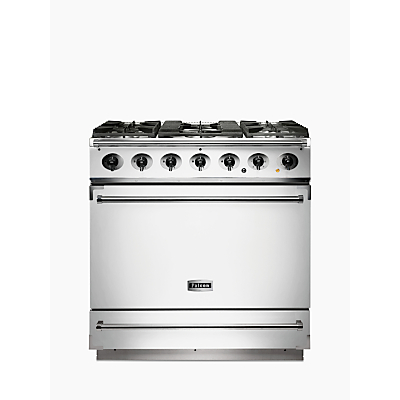 Falcon 900S Dual Fuel Range Cooker, White