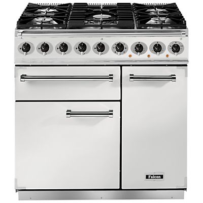 Image of Falcon 900 Deluxe Dual Fuel Range Cooker, White