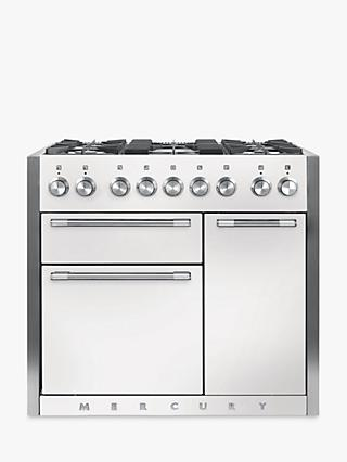 Mercury MCY1000DFSD Dual Fuel Range Cooker, White