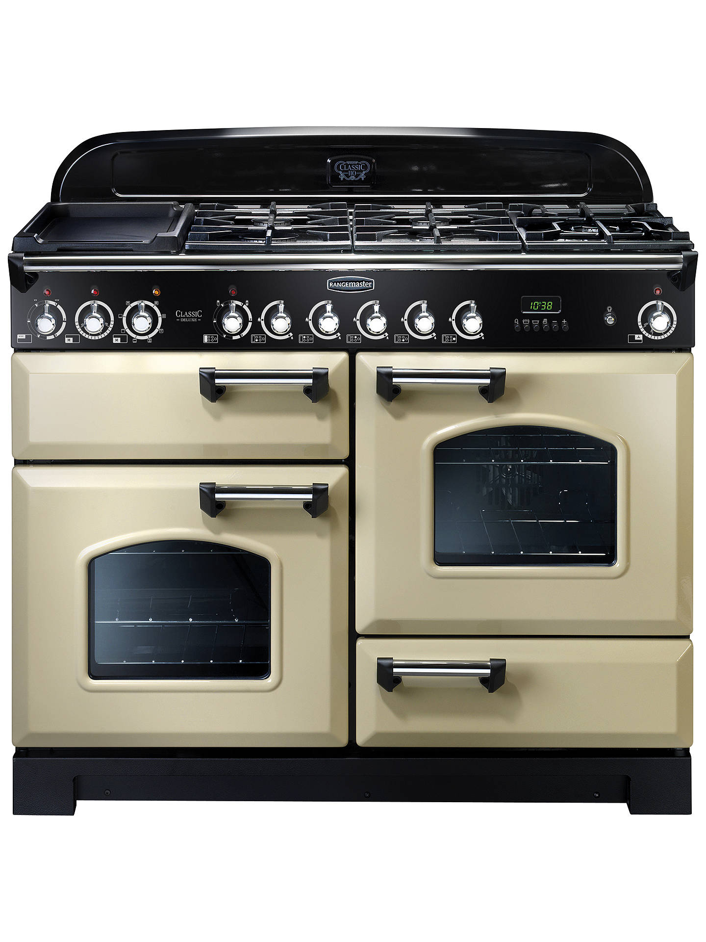 rangemaster classic deluxe 110 dual fuel range cooker at. Black Bedroom Furniture Sets. Home Design Ideas