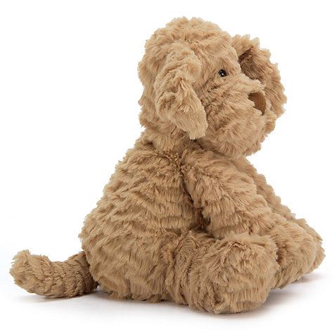 Buy Jellycat Fuddlewuddle Puppy Soft Toy, Medium, Toffee Online at johnlewis.com