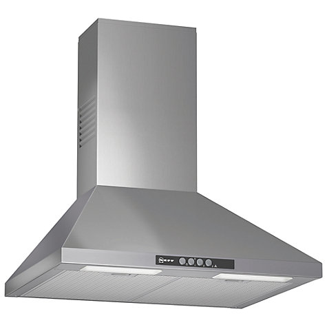 Buy Neff D66B21N0GB Chimney Cooker Hood, Stainless Steel Online at johnlewis.com