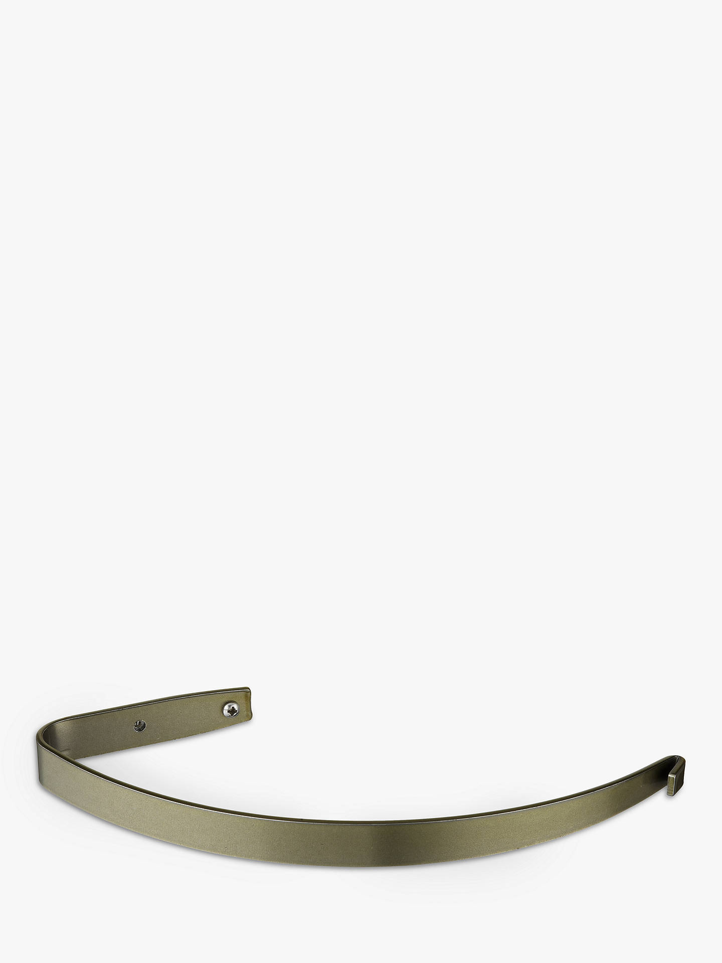 Buy John Lewis & Partners Single Holdback, Brass Toned Steel Online at johnlewis.com