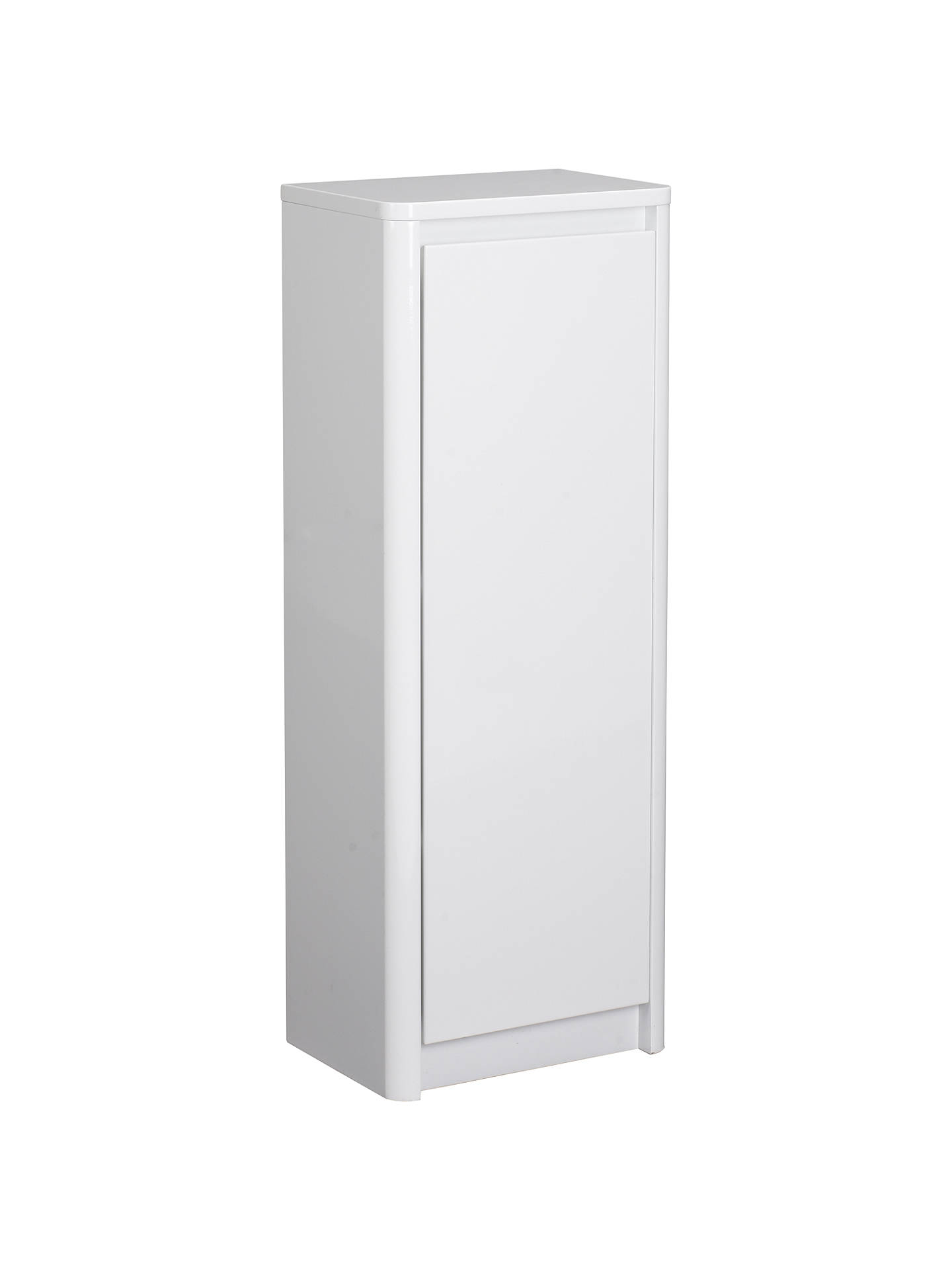 John Lewis Gloss Curve Free Standing Bathroom Floor Cabinet at John ...