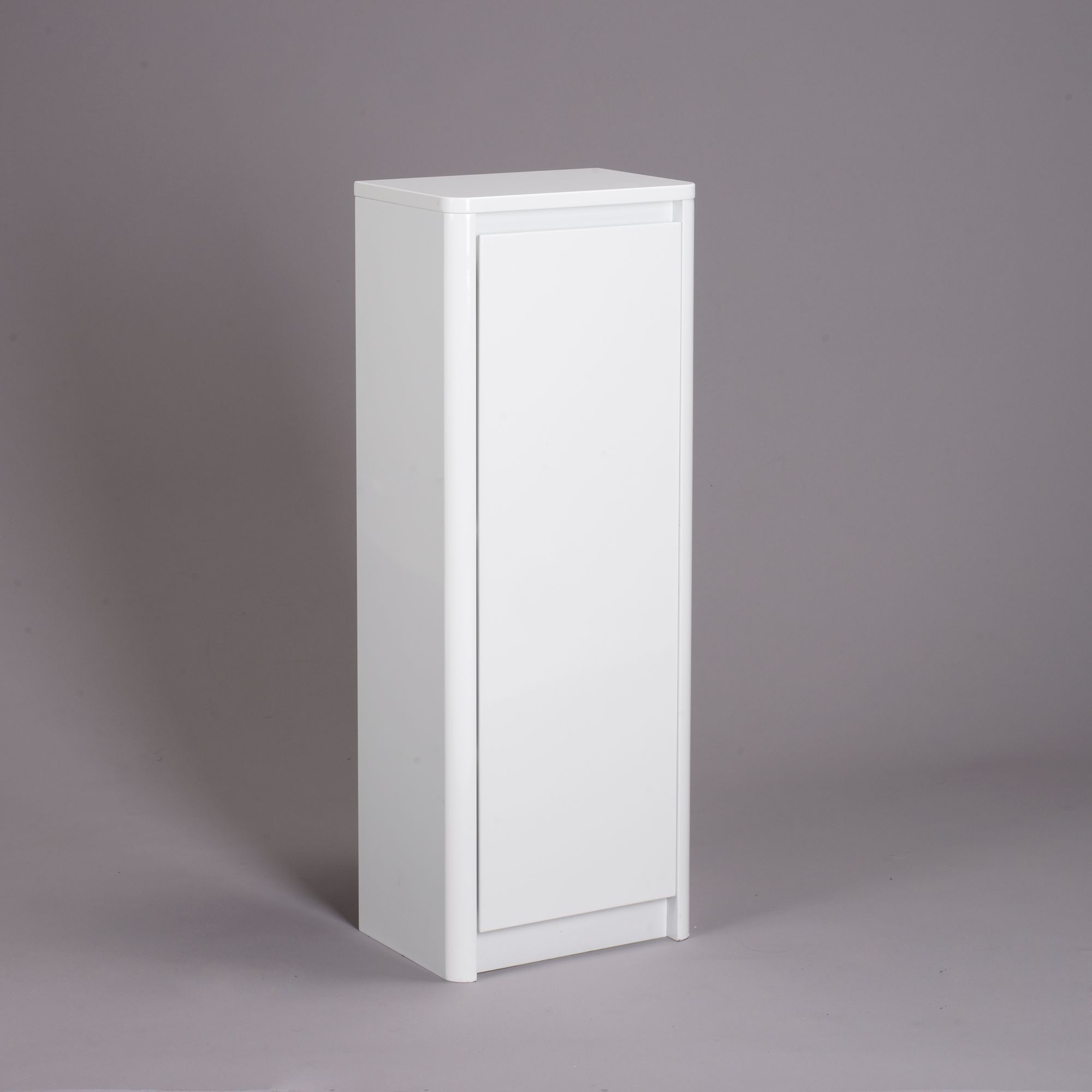 John Lewis Partners Gloss Curve Free Standing Bathroom Floor Cabinet At John Lewis Partners