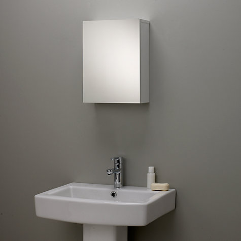 bathroom mirror online buy lewis gloss single mirrored bathroom cabinet 11063