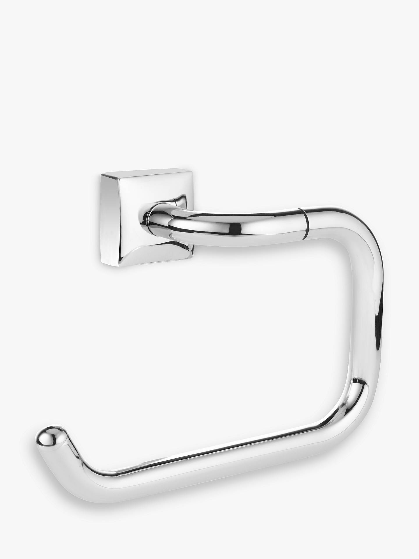 BuyJohn Lewis & Partners Pure Bathroom Swing Toilet Roll Holder, Chrome Online at johnlewis.com