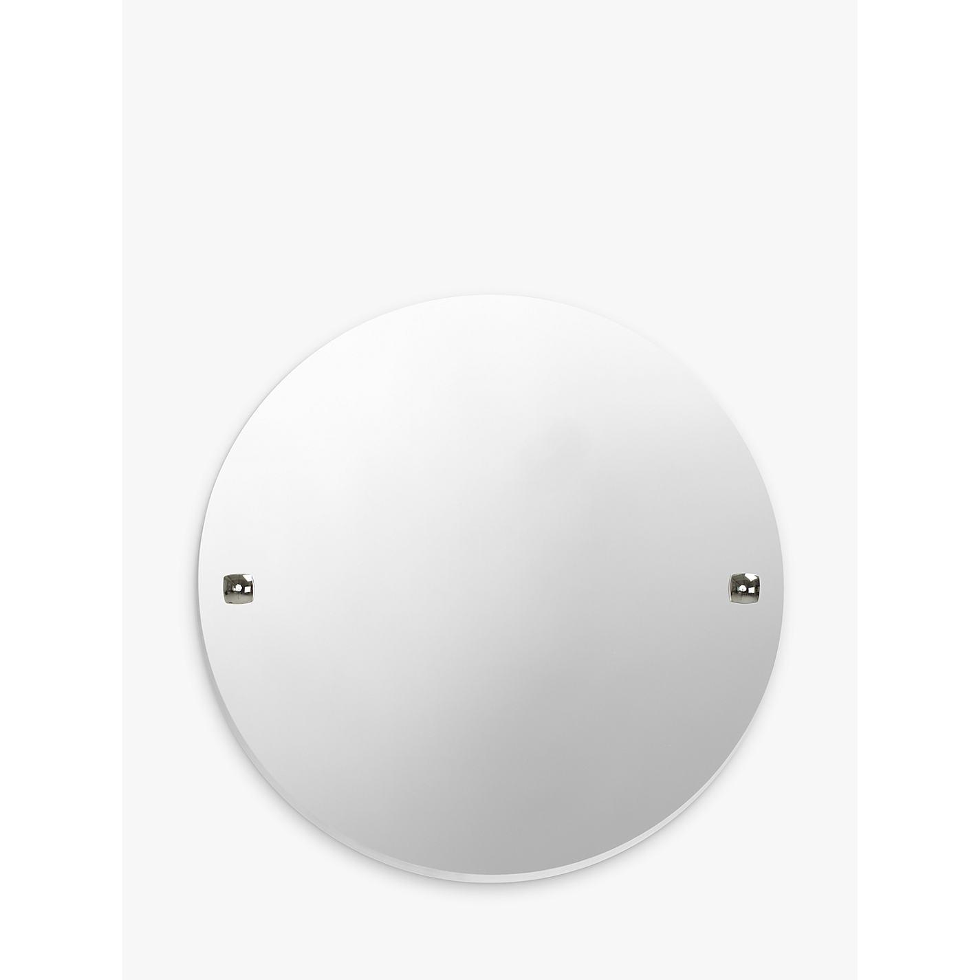 buy john lewis pure bathroom wall mirror chrome online at