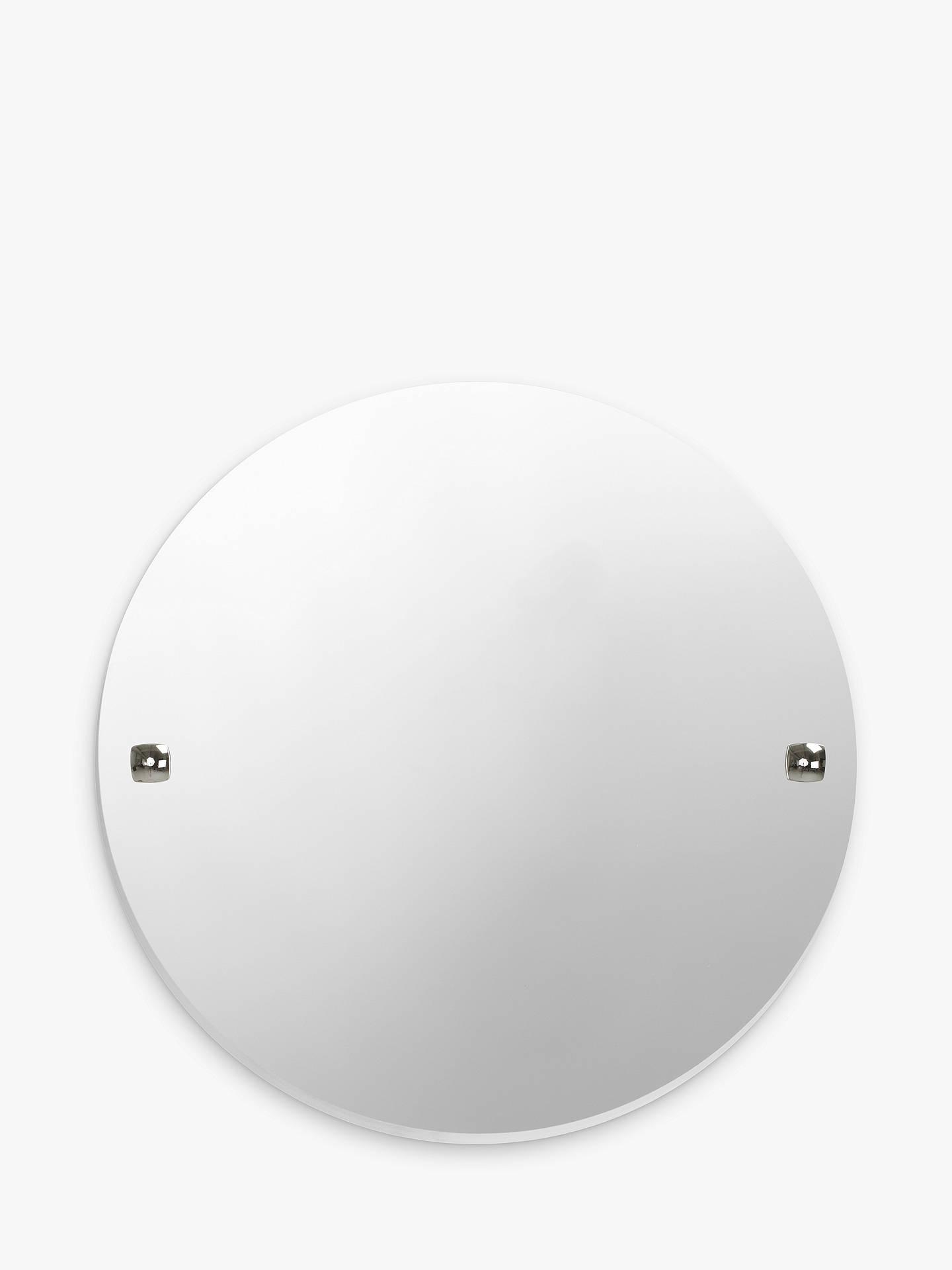 John Lewis Partners Pure Bathroom Wall Mirror Chrome At John