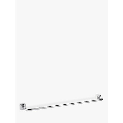 John Lewis Pure Bathroom Towel Rail Chrome Online At Johnlewis