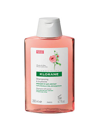 Buy Klorane Peony Shampoo for Irritated Scalps, 200ml Online at johnlewis.com