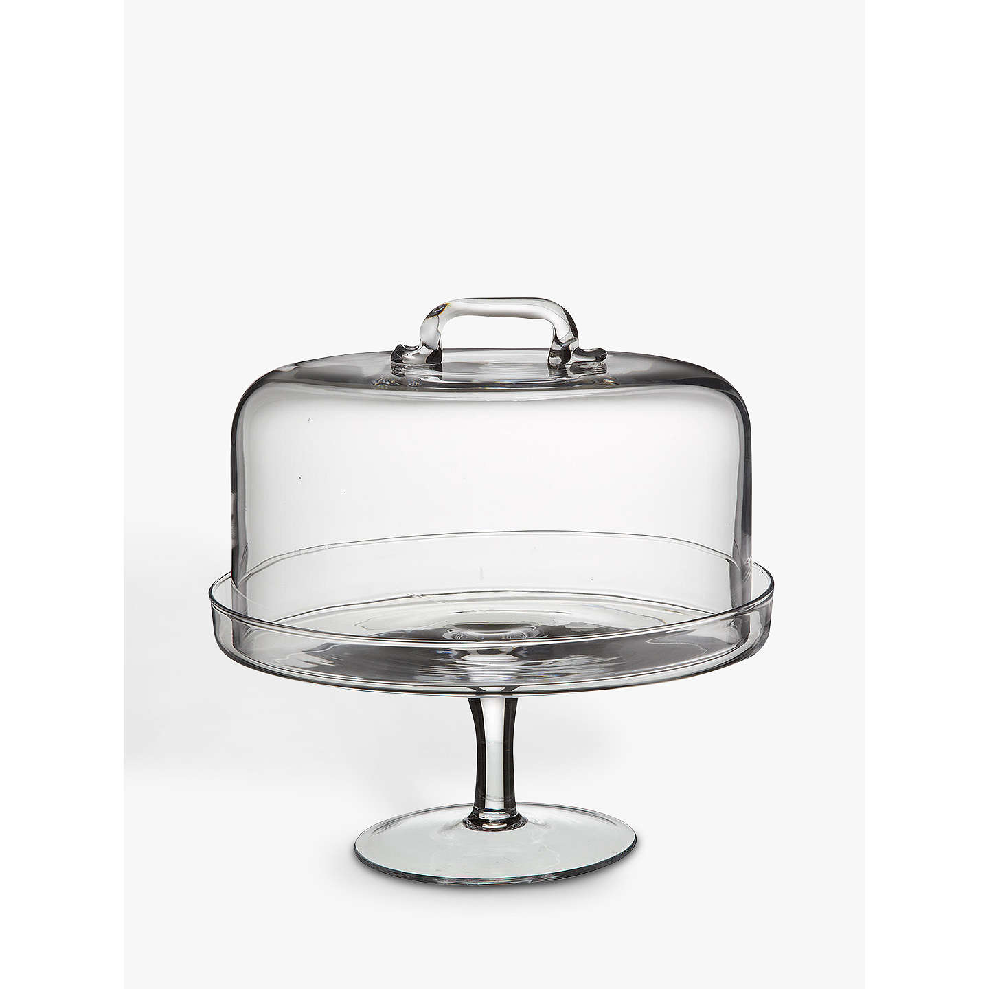 Lsa International Serve Cake Stand And Dome, Dia.26.5cm by Lsa International