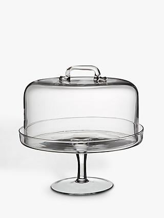 LSA Cake Stand and Dome, Dia.26.5cm