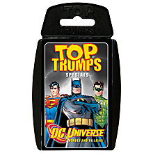 Buy Top Trumps Cards, DC Universe: Heroes and Villains Online at johnlewis.com