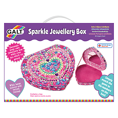 Image of Galt Sparkle Jewellery Box