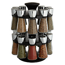 Buy Cole & Mason Hudson 20 Jar Filled Spice Carousel Online at johnlewis.com