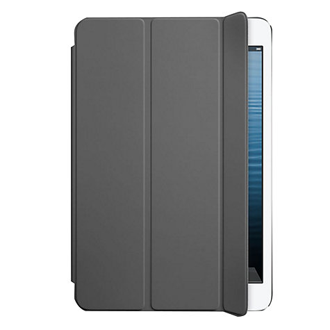 Buy Apple iPad mini Smartcover, Dark Grey Online at johnlewis.com