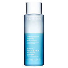Buy Clarins Instant Eye Makeup Remover, 125ml Online at johnlewis.com