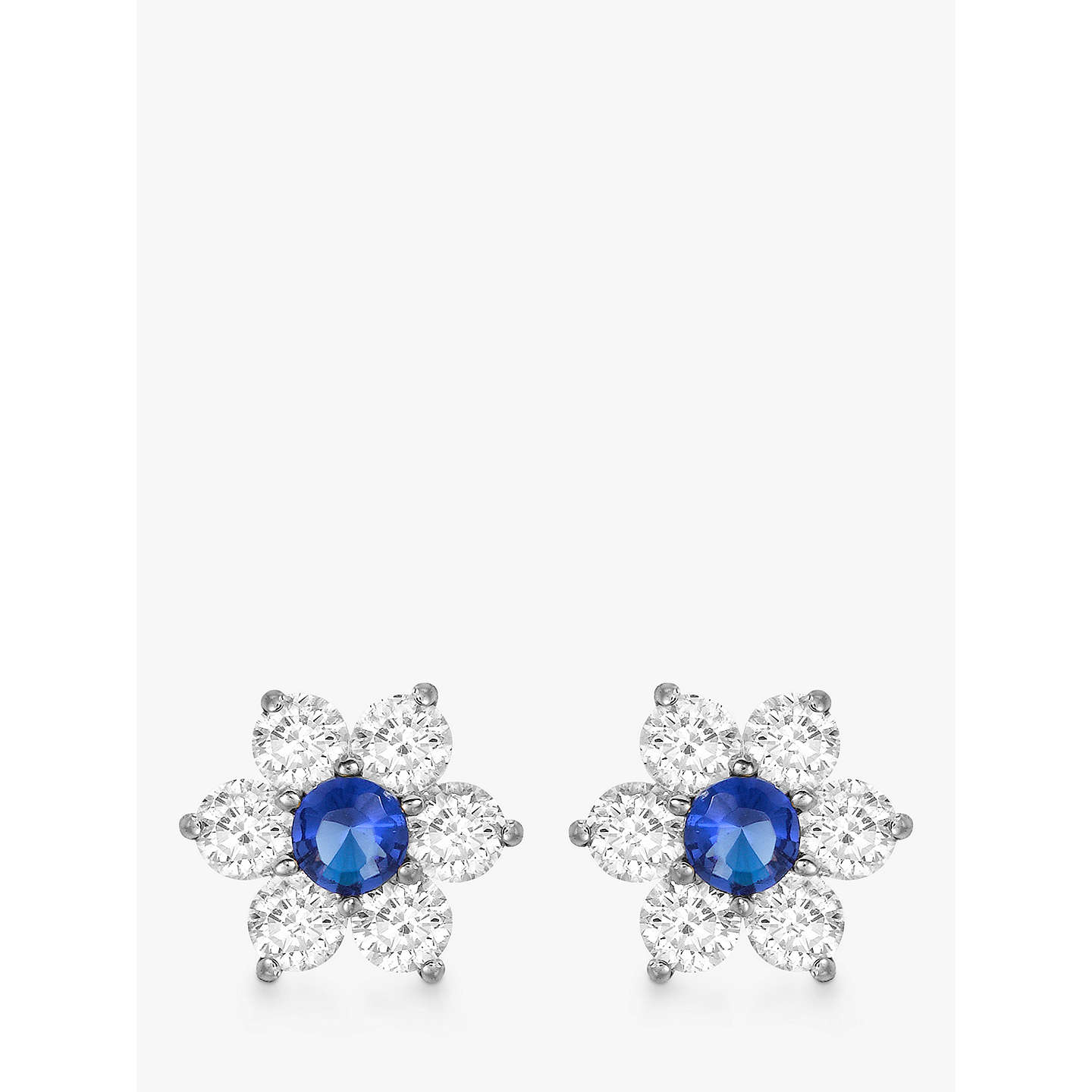 studs collections zirconia set light earrings stud cubic prong lavender cz purple jewelryland products gold com round white birthstone