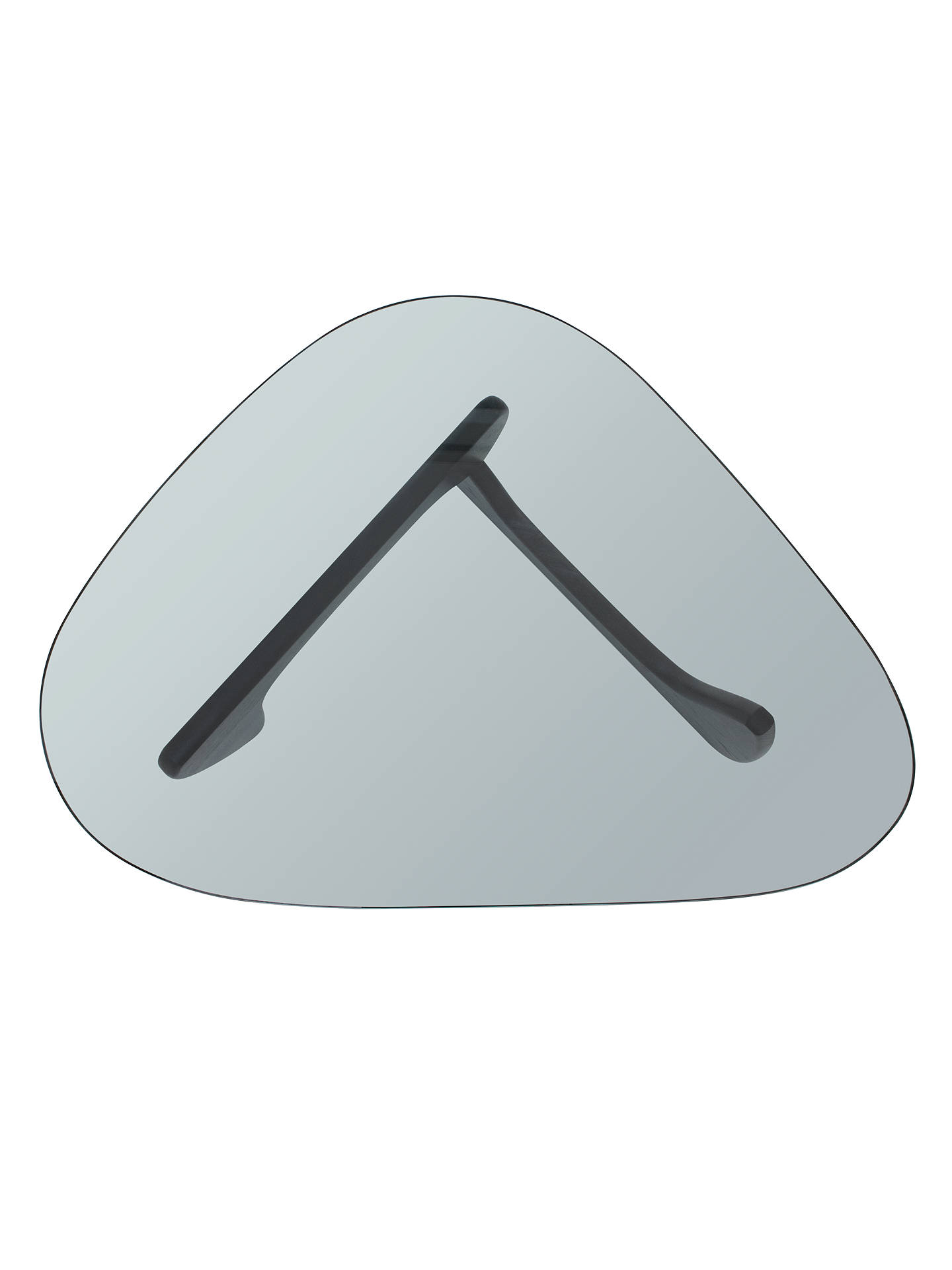 Buy Vitra Noguchi Coffee Table, Black Ash Online at johnlewis.com