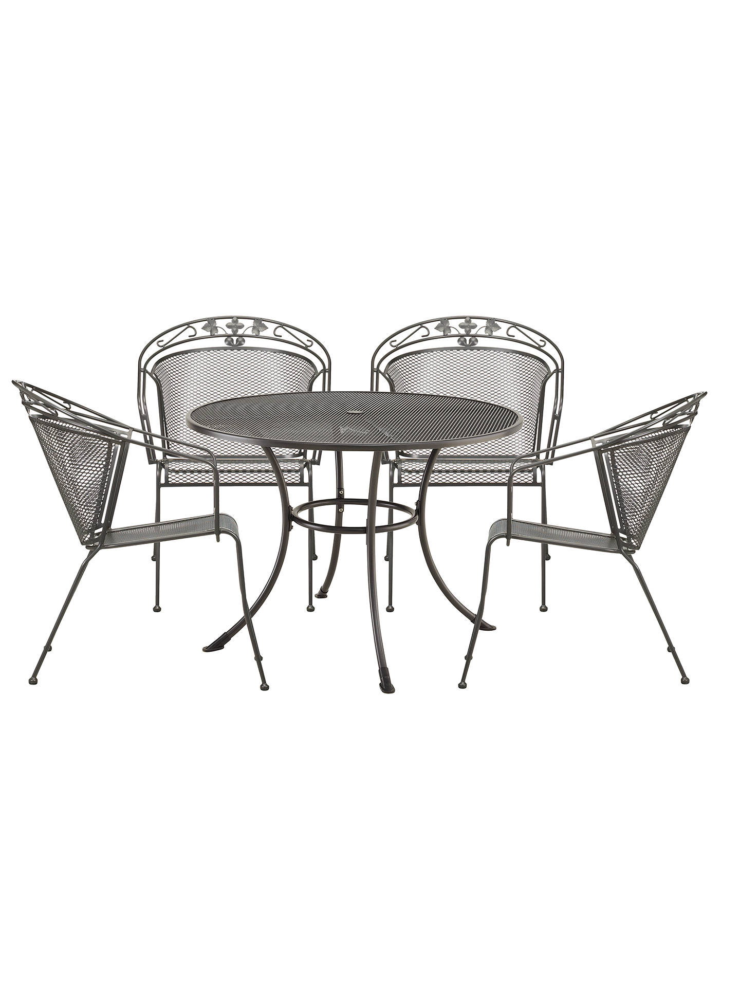 521f1c33a46 Buy John Lewis Henley by KETTLER 4 Seater Round Garden Dining Set Online at  johnlewis.