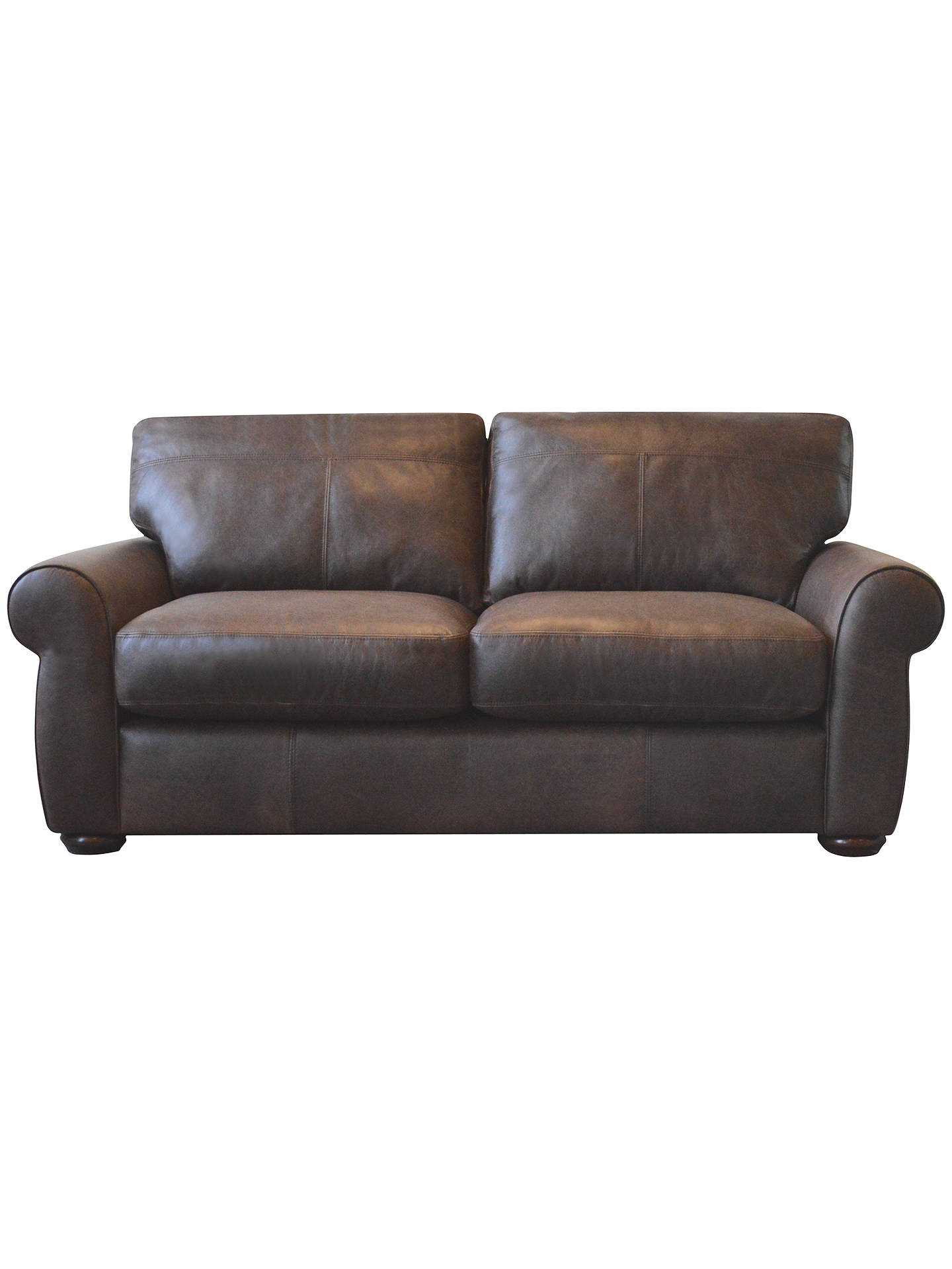 cc57bfb5fb3 buyjohn lewis madison semi-aniline medium leather sofa