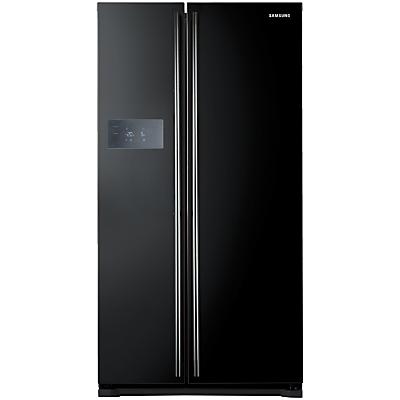 Samsung RS7527BHCBC American Style Fridge Freezer, Gloss Black