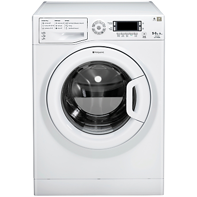 Hotpoint WDUD9640P Washer Dryer, 9kg Wash/6kg Dry Load, A Energy Rating, 1400rpm Spin, White