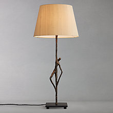 Buy David Hunt Ottoman Table Lamp, Bronze Online at johnlewis.com