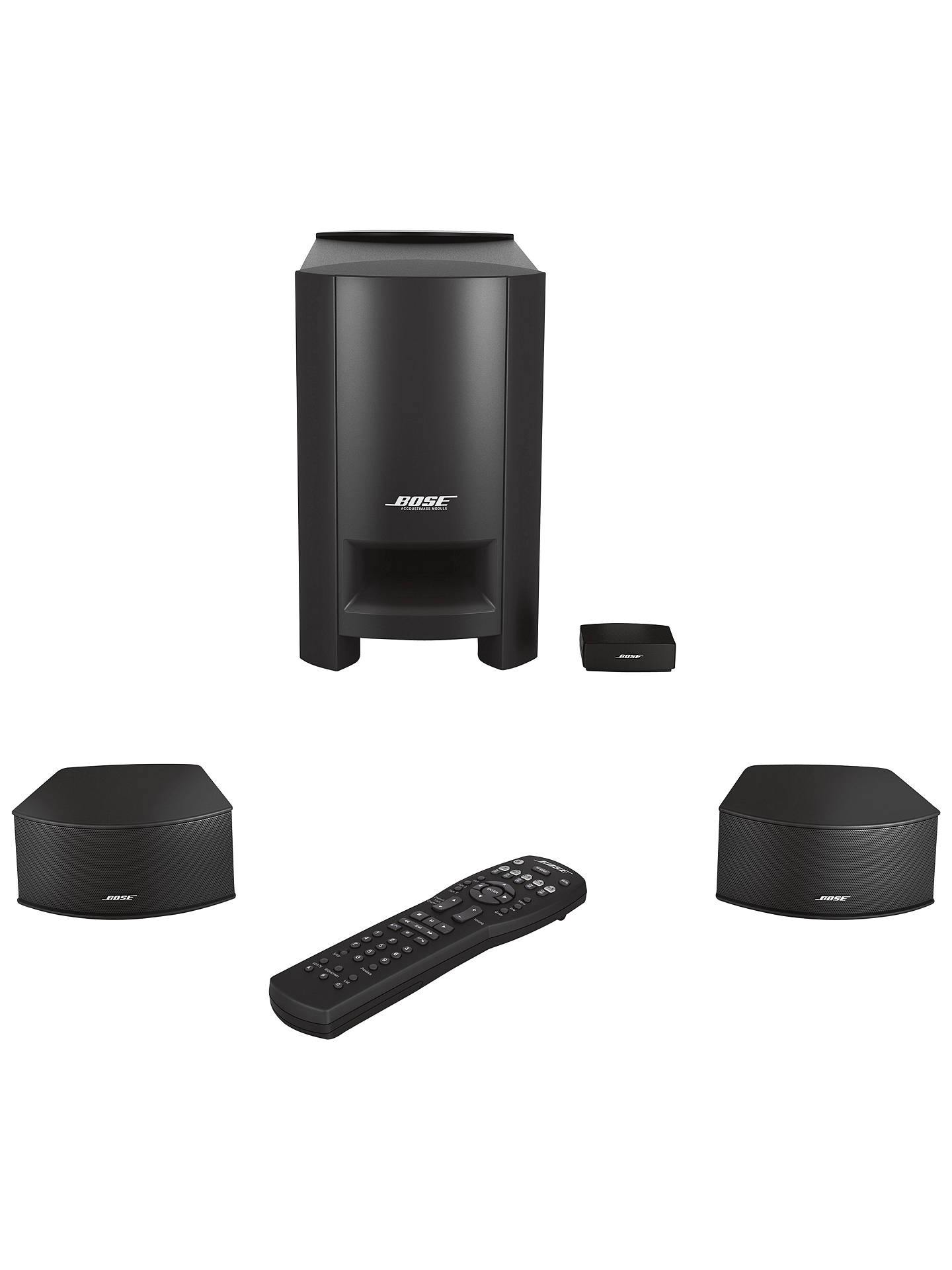 Bose cinemate gs ii 21 home cinema speaker system at john lewis buybose cinemate gs ii 21 home cinema speaker system online at johnlewis publicscrutiny Choice Image