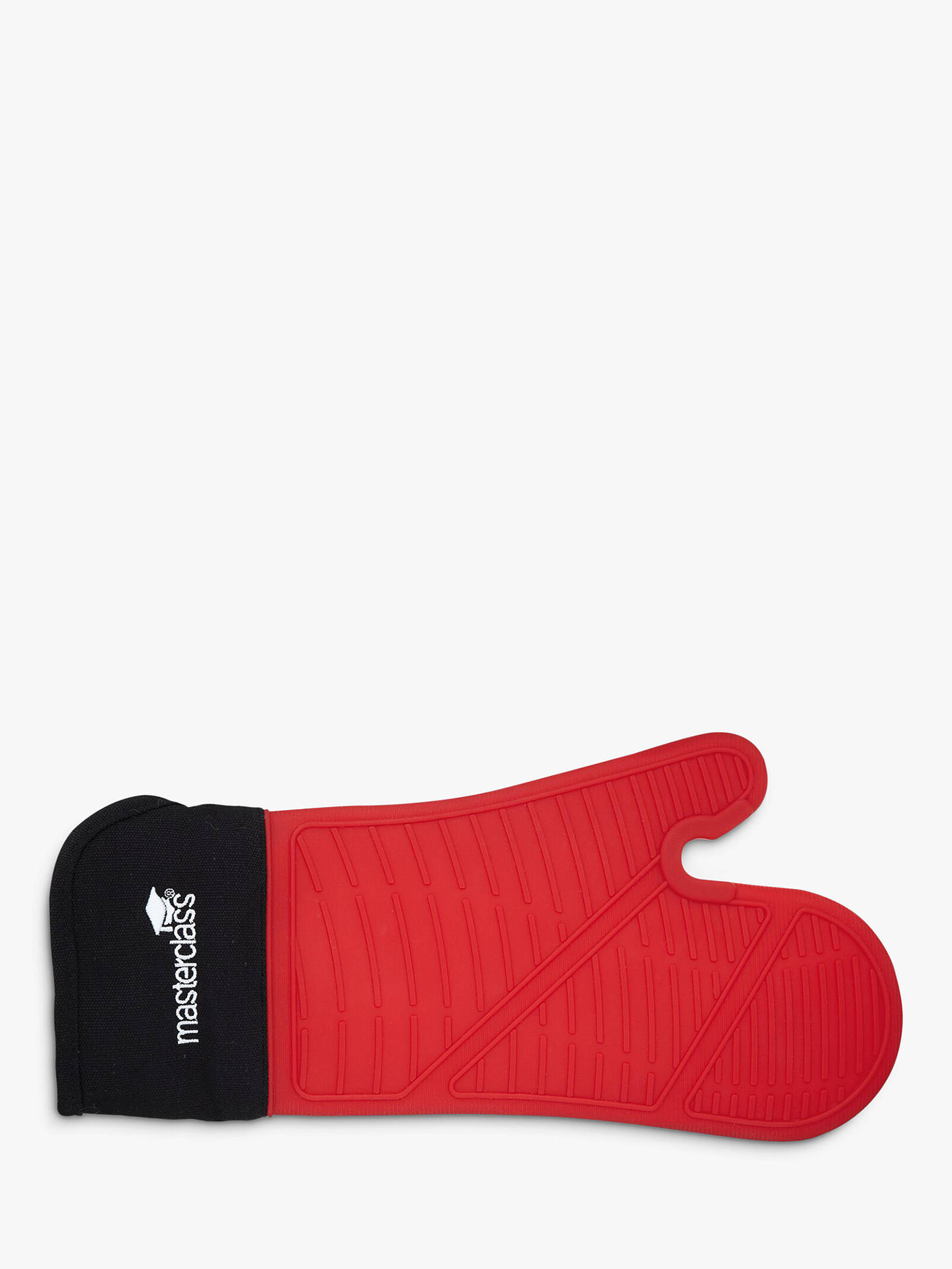 Buy Masterclass Silicone Oven Mitt, Red Online at johnlewis.com