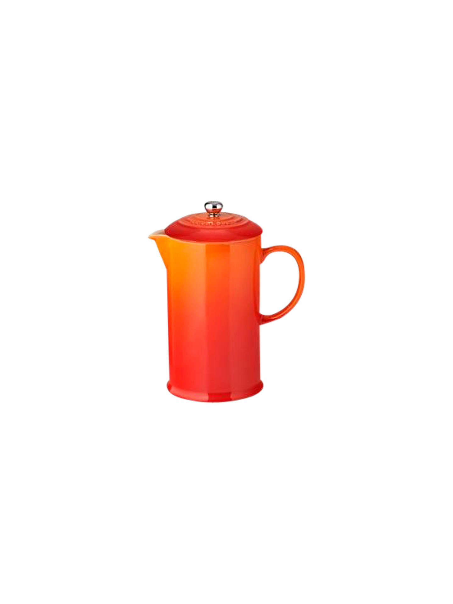 Buy Le Creuset Stoneware Coffee Press, 1L, Volcanic Online at johnlewis.com